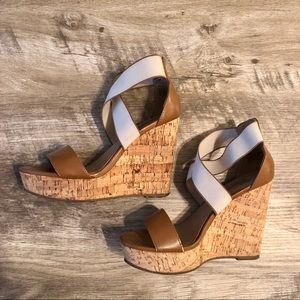 {Steve Madden} Cork Wedges
